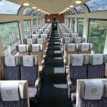Rocky Mountaineer train interior