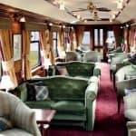 The Royal Scotsman Train interior