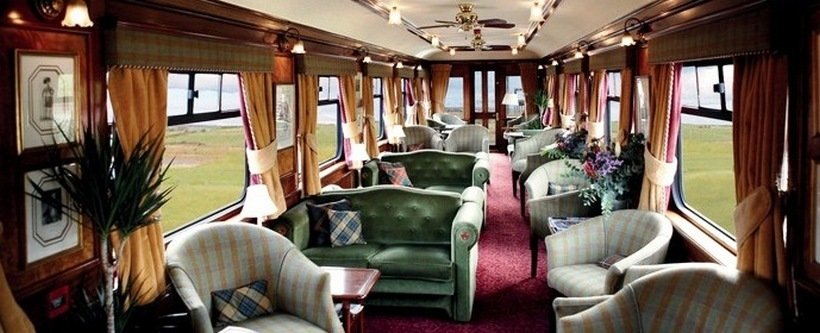 The Top 10 Most Luxurious Trains In The World
