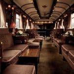 Venice Simplon Orient Express train interior