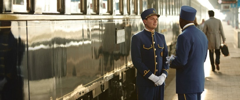 Venice Simplon Orient Express train