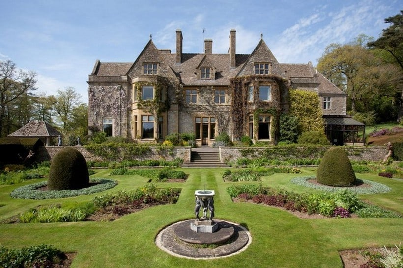 David Beckham cotswolds house