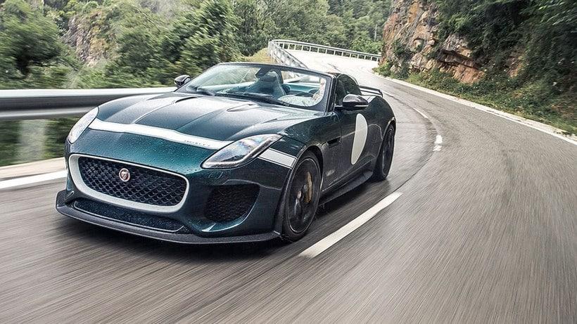 David Beckham Jaguar F Type