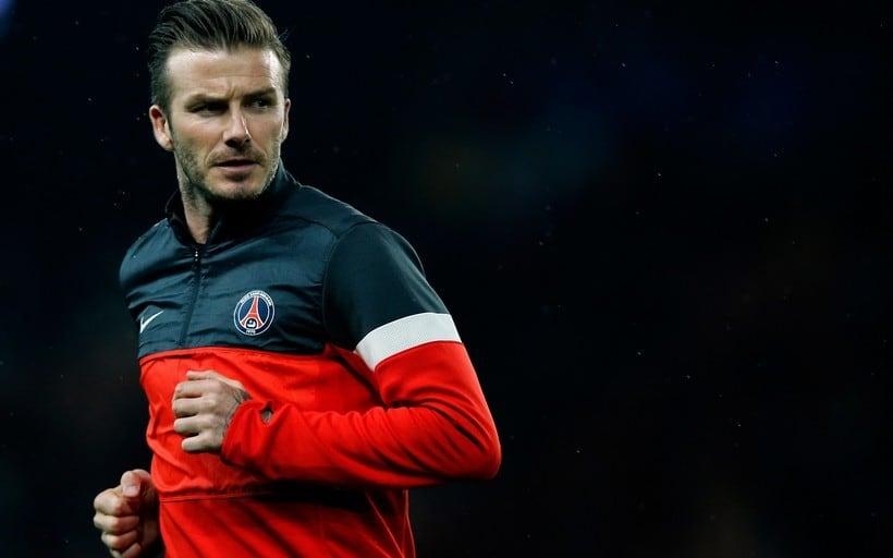 David Beckham football