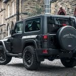 JEEP wrangler black hawk edition 4