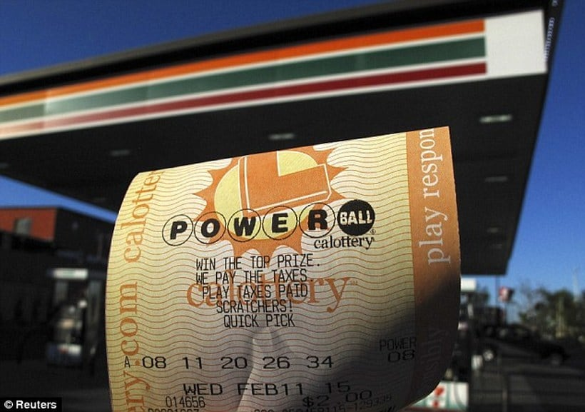 $564.1 million Powerball