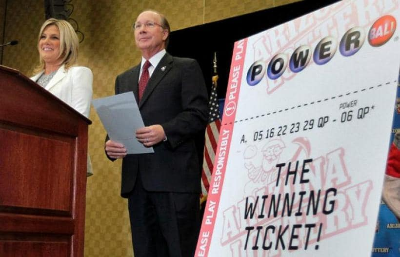 $587.5 million Powerball