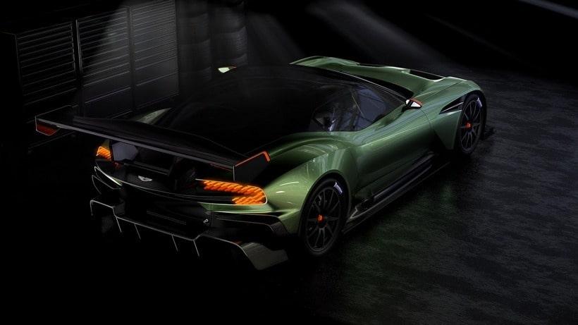 Aston Martin Vulcan back