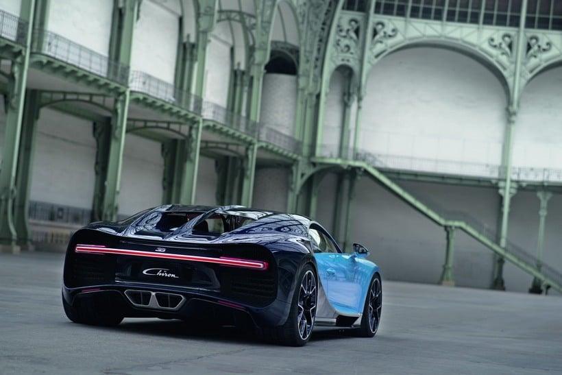 Bugatti Chiron back