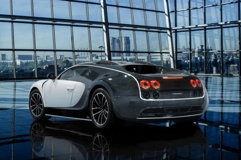 Bugatti Veyron by Mansory Vivere back