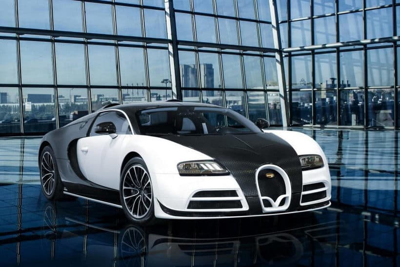 Bugatti Veyron by Mansory Vivere front