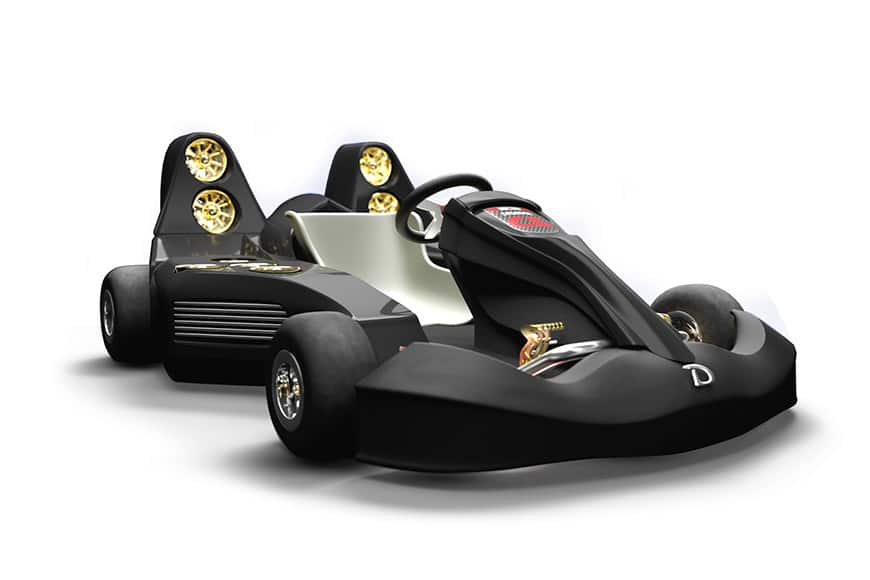 Most Expensive Car In The World 2018 >> Daymak Unveils the World's Fastest And Most Expensive Go-Kart