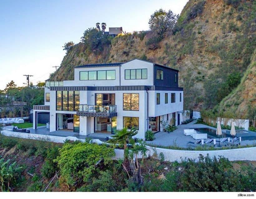 Demi Lovato house hollywood hills