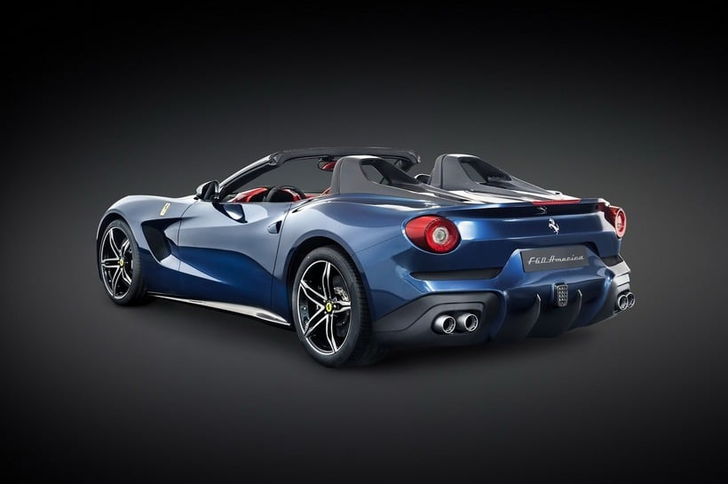 Ferrari F60 America back
