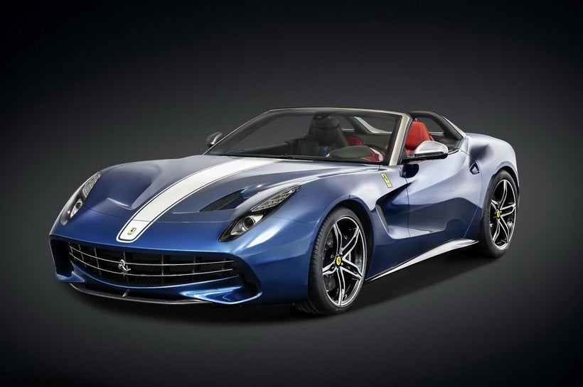 Ferrari F60 America front