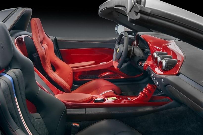 Ferrari F60 America interior