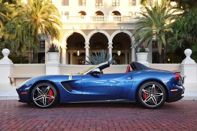 Ferrari F60 America side