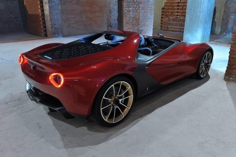 Ferrari Pininfarina Sergio back