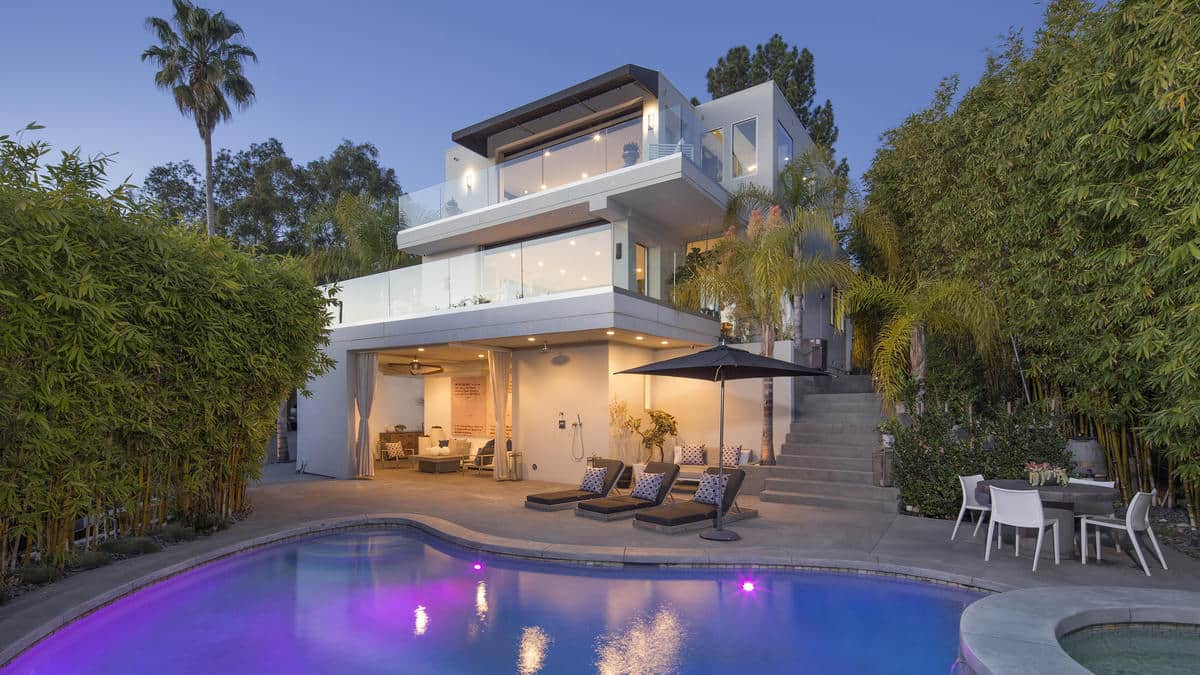 Harry Styles Hollywood Hills West Home