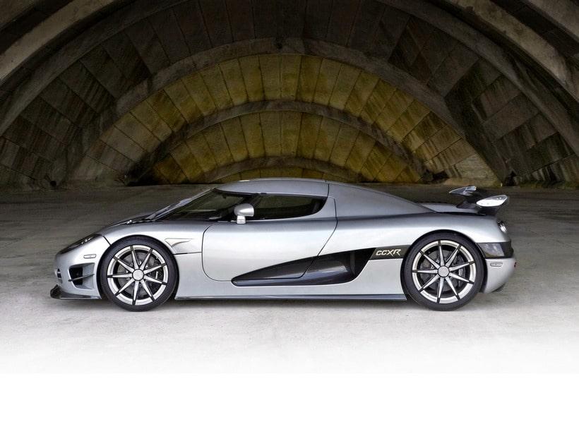 Koenigsegg CCXR Trevita side