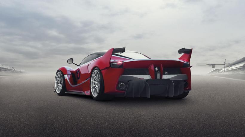 LaFerrari FXX K back