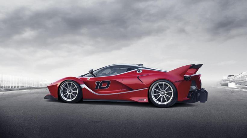 LaFerrari FXX K side