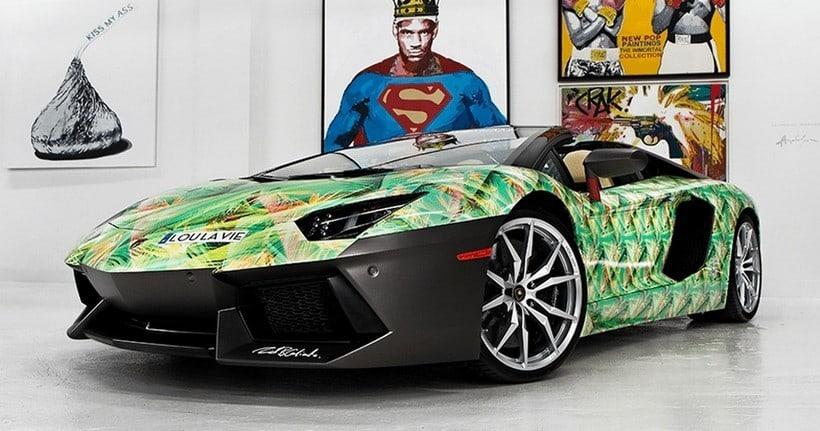 LeBron James Lamborghini Aventador