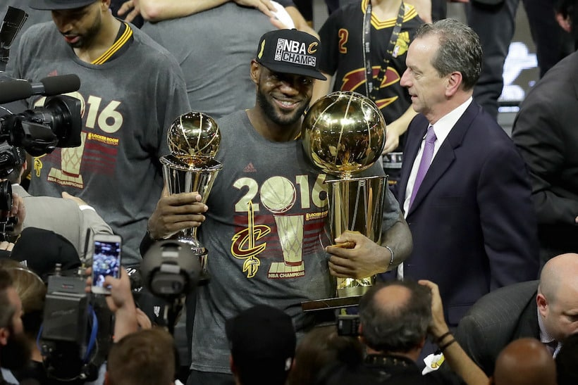 LeBron James nba champion