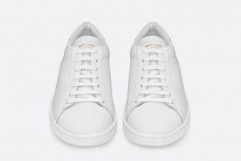 Saint Laurent Court Classic White