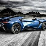 W Motors Lykan Hypersport back