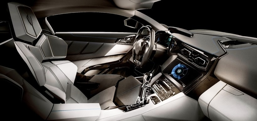 W Motors Lykan Hypersport interior