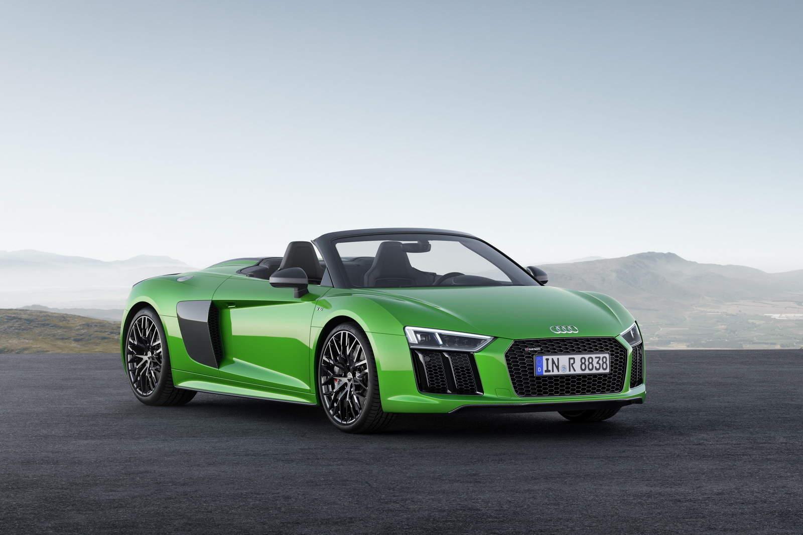 Audi R8 V10 Spyder Plus Looks Too Good To Be True