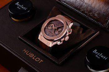Hublot Classic Fusion Chronograph Berluti Scritto 1