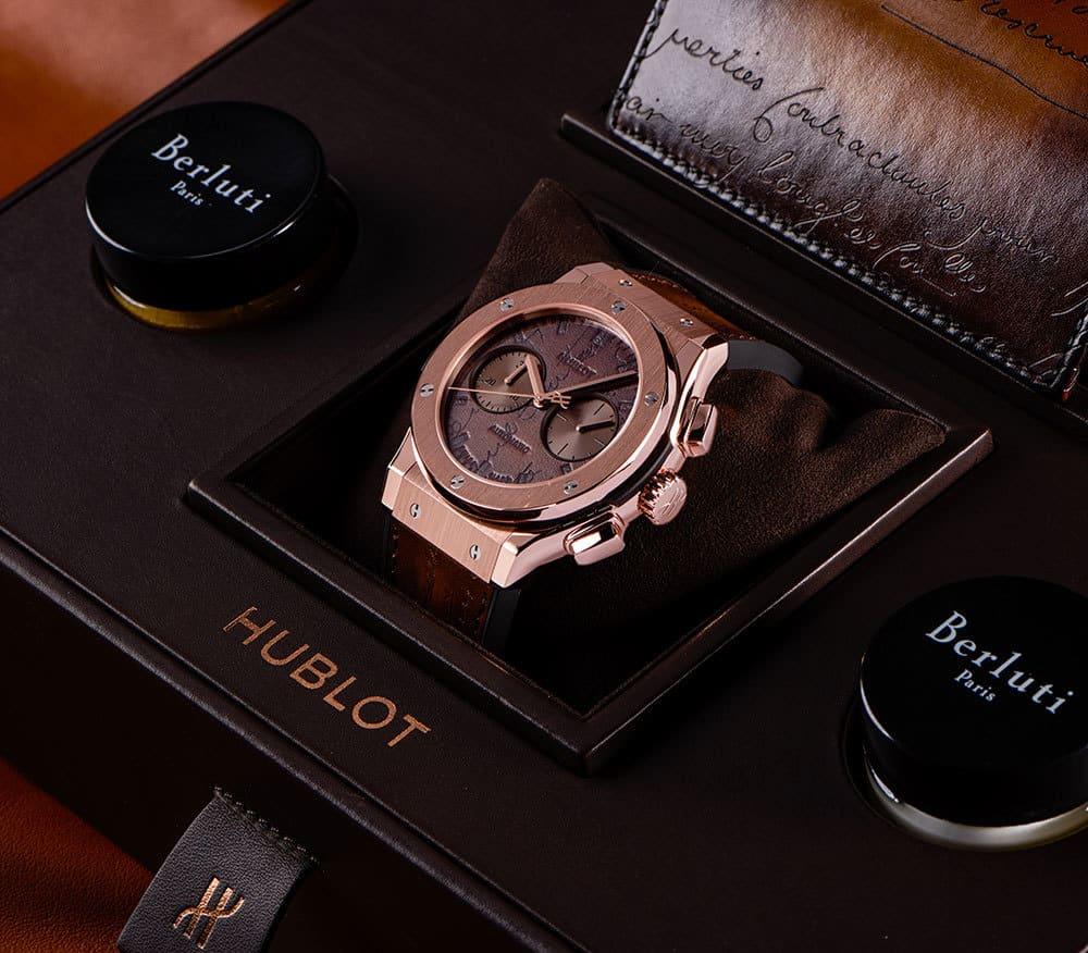 Hublot Classic Fusion Chronograph Berluti Scritto