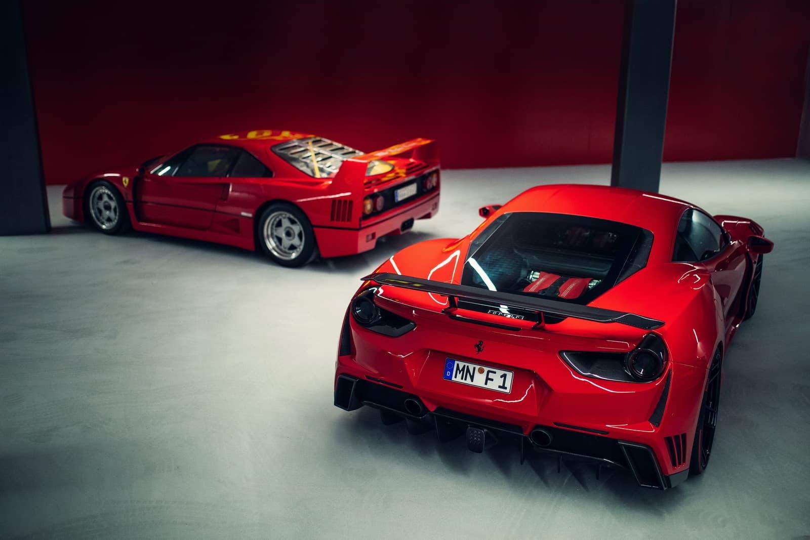 Novitec Ferrari 488