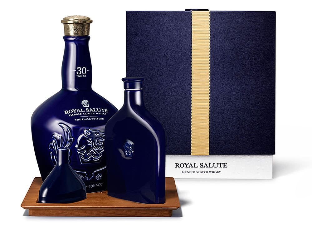 Royal Salute 30-Year Old The Flask Edition