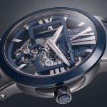 Ulysse Nardin Executive Skeleton Tourbillon Blue 1