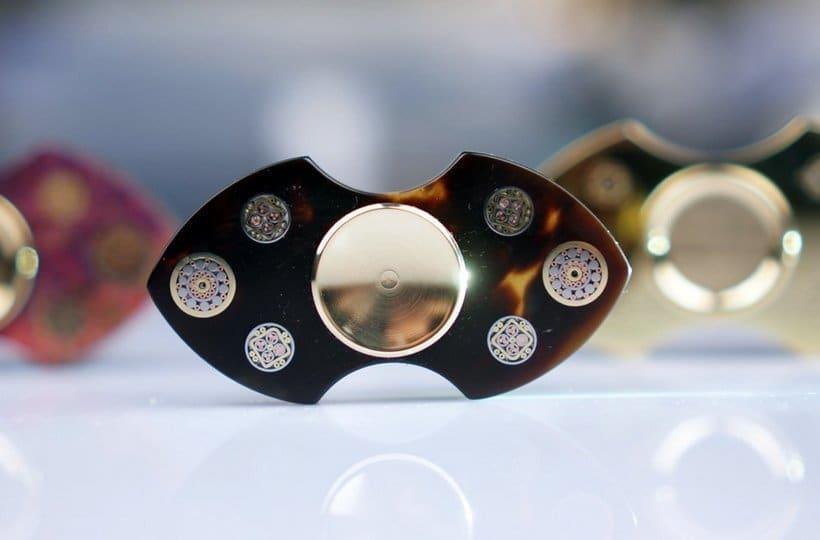 Weiheng Customized Hand Spinner 925 Silver Fidget