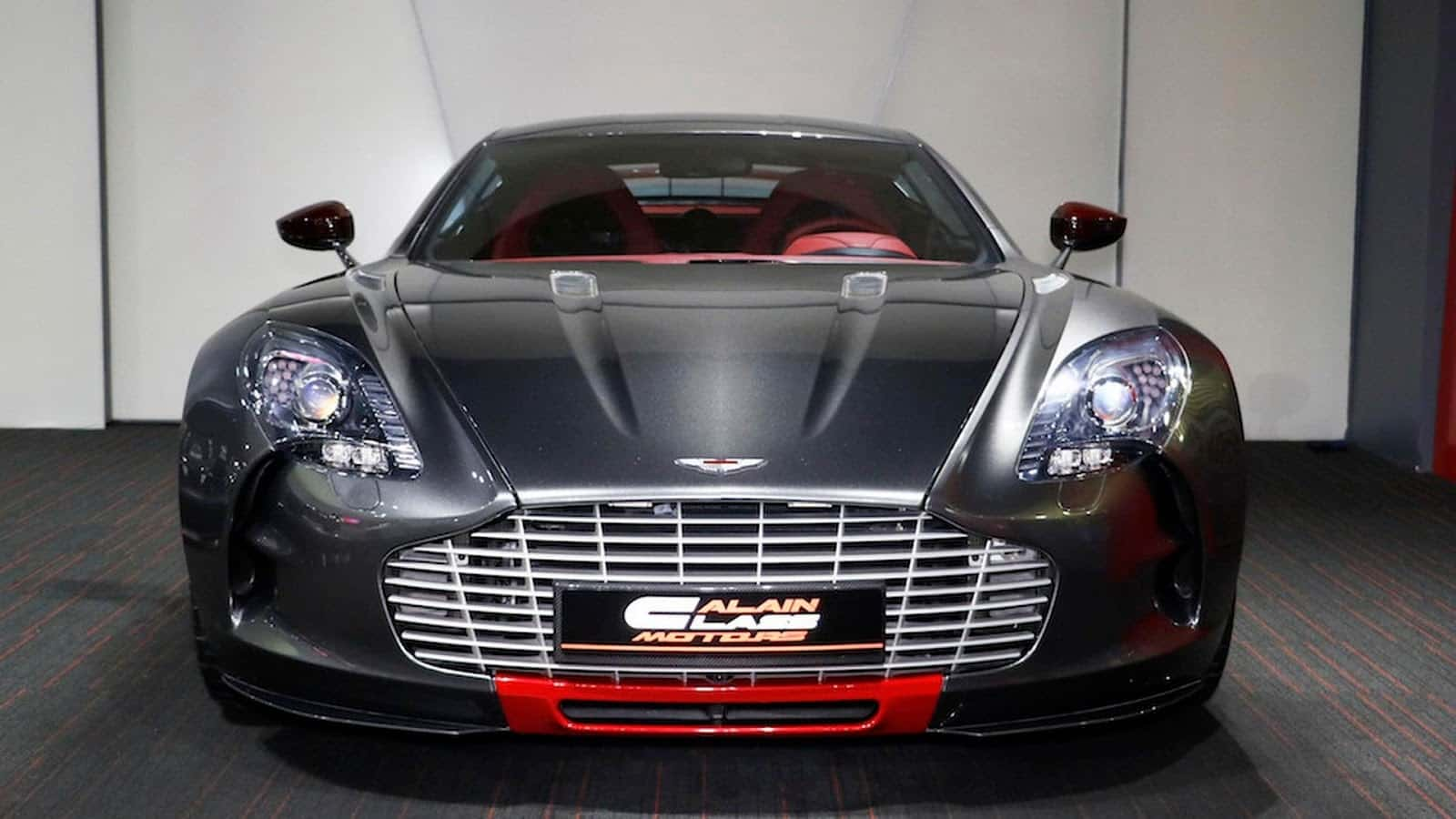 ultra rare aston martin one 77 q series up for the grabs. Black Bedroom Furniture Sets. Home Design Ideas