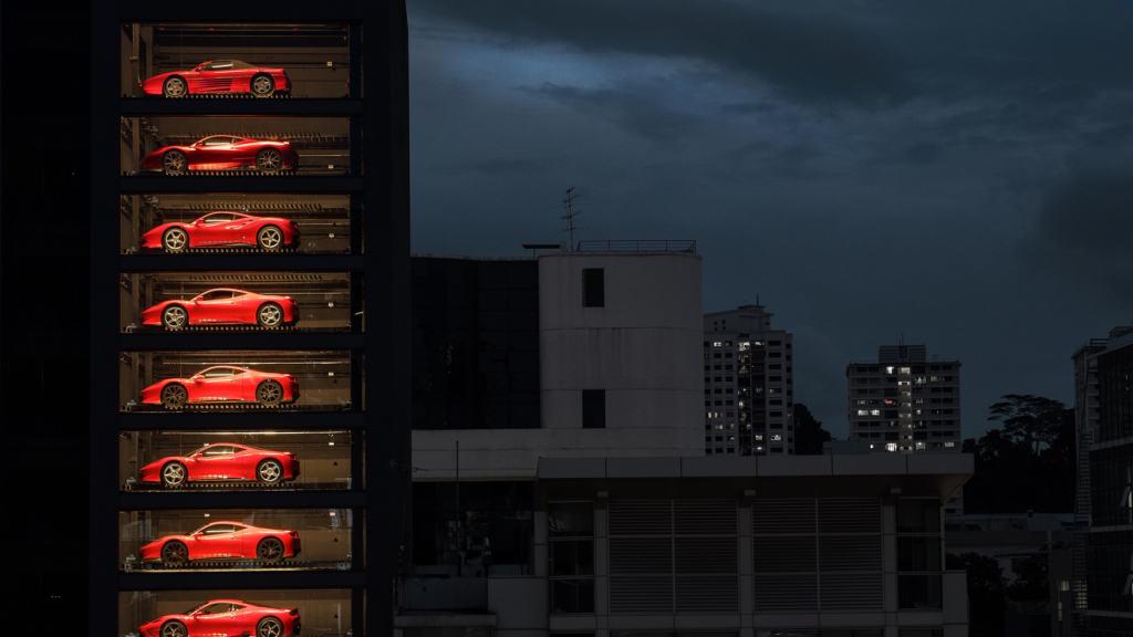 Supercar Vending Machine
