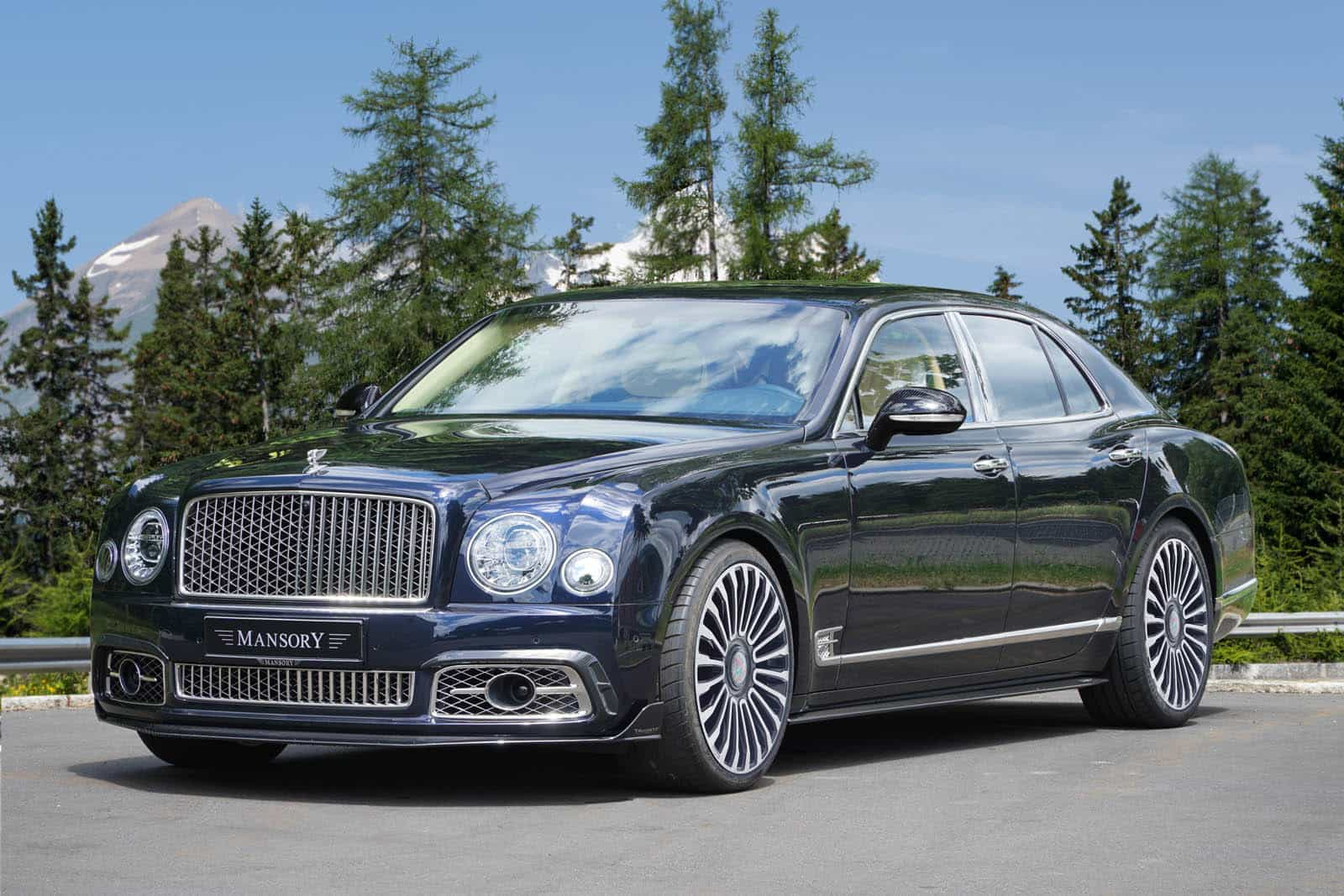 Mansory Fiddles With The Luxurious Bentley Mulsanne