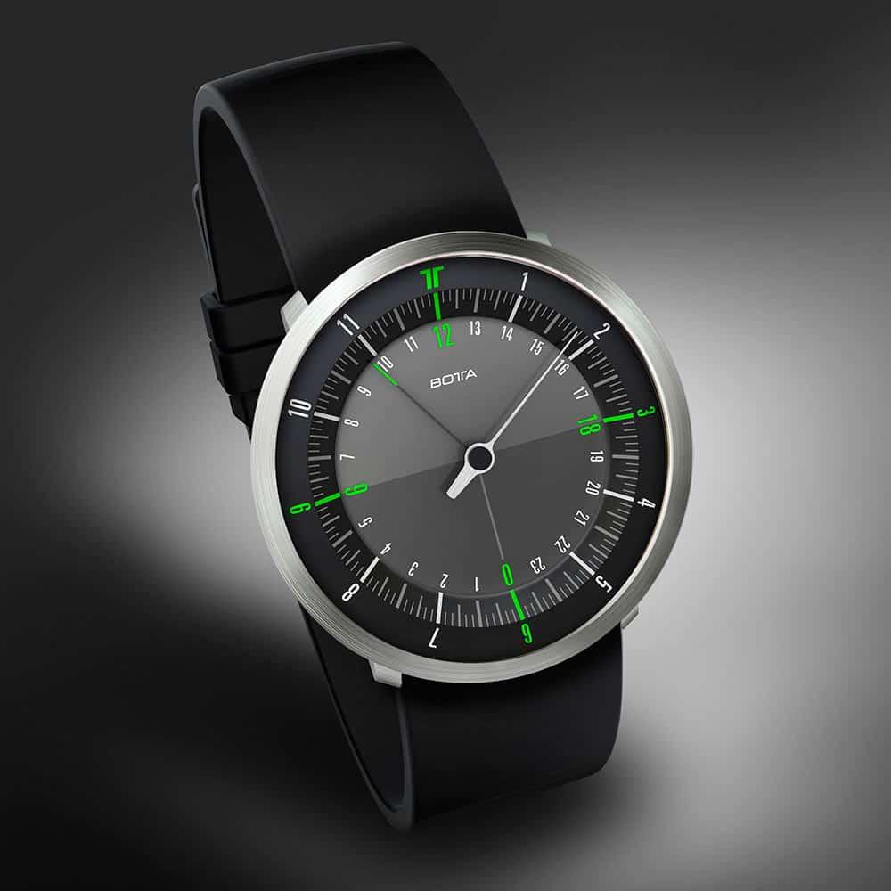Botta Design Duo green quartz