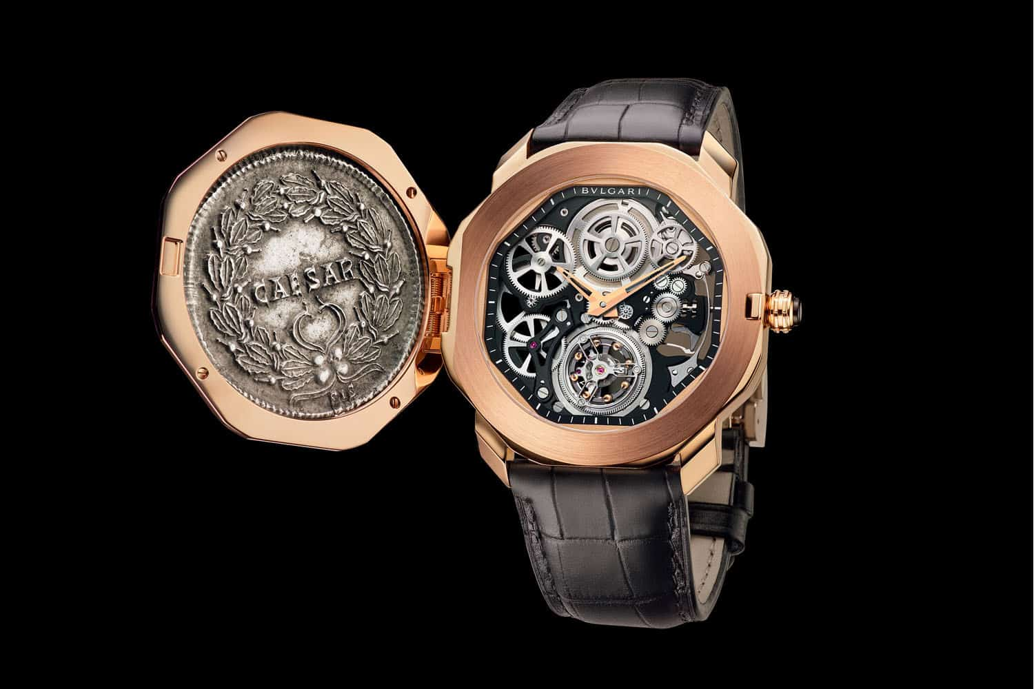 Roman Time The Bulgari Octo Finissimo Tourbillon Monete