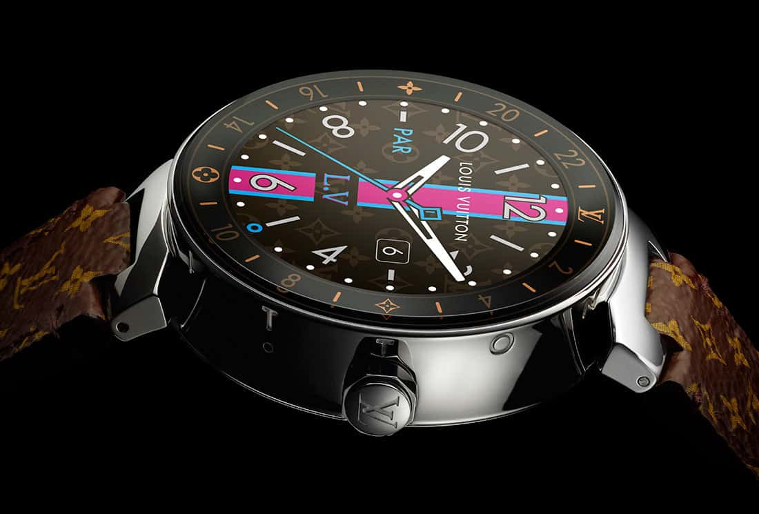 bd1a509aedba Just In Time - The Louis Vuitton Tambour Horizon Smartwatch