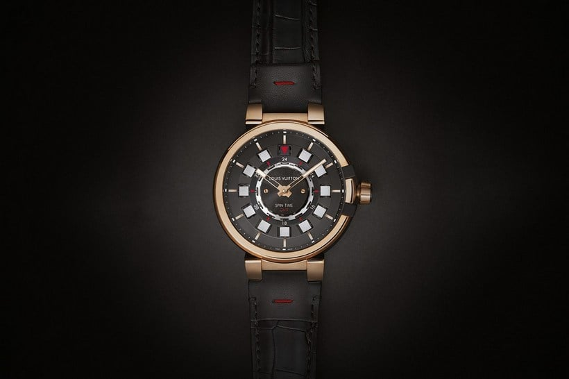 Louis Vuitton Tambour Spin Time GMT