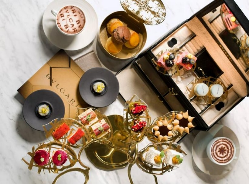 Bulgari high tea
