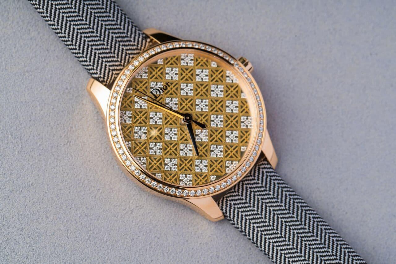 Dior VIII Montaigne Tissage Precieux