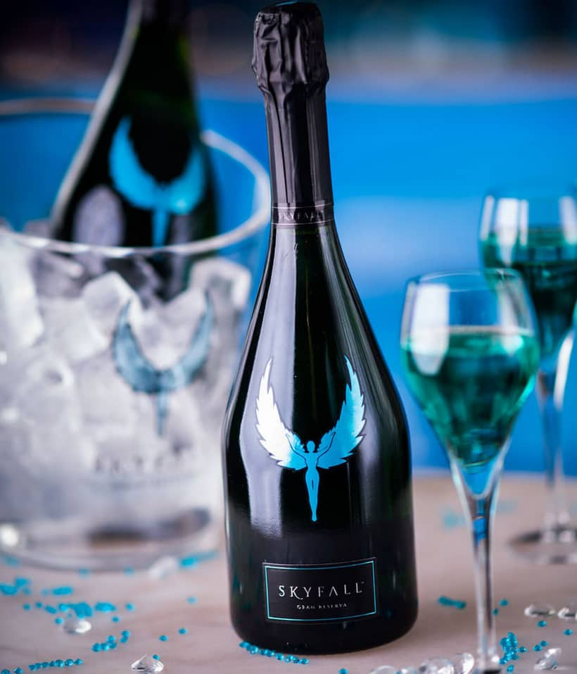 Have A Taste Of The Skyfall Gran Reserva Sparkling Wine