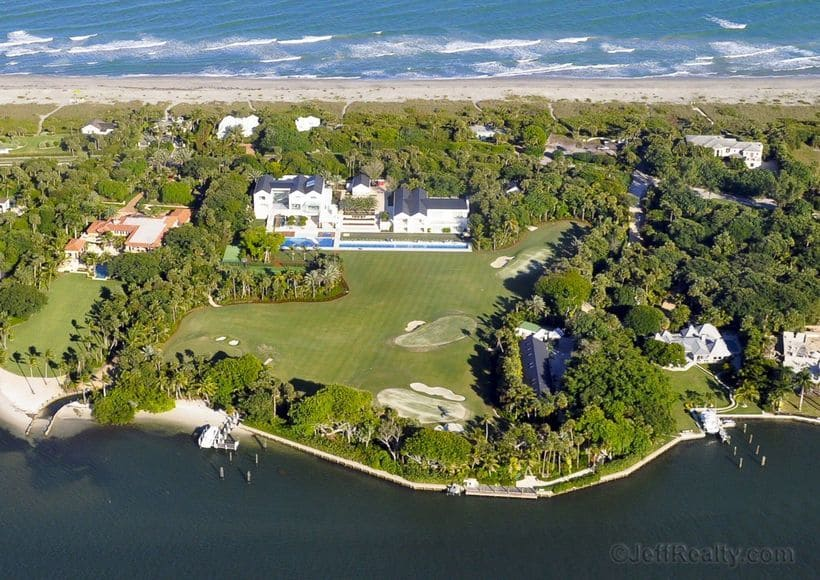 Tiger Woods Jupiter Island Home