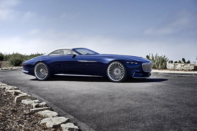 mercedes-maybach 6 cabriolet concept 2